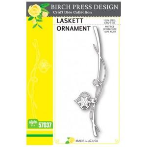 Birch Press Stanzschablone - Laskett Ornament