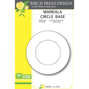 Birch Press Stanzschablone - Mandala Circle Base