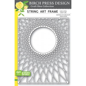 Birch Press Stanzschablone - String Art Frame