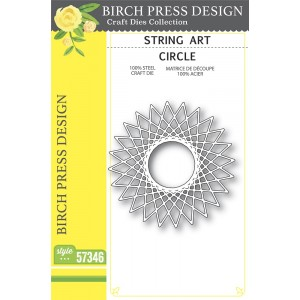 Birch Press Stanzschablone - String Art Circle