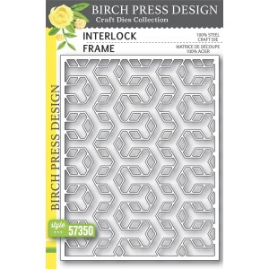 Birch Press Stanzschablone - Interlock Frame