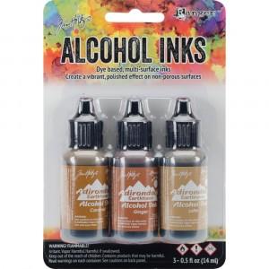 Adirondack Alcohol Inks - 3er Set Cabin Cupboard