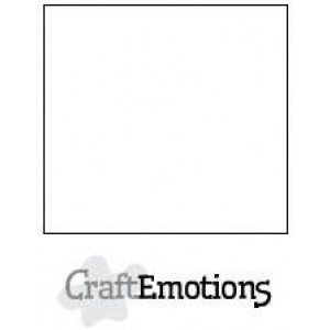 CraftEmotions Cardstock A4 - Weiß