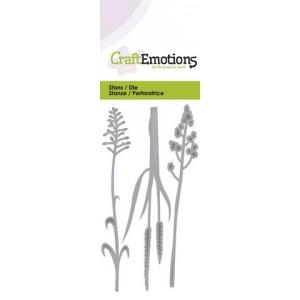 CraftEmotions Stanzschablone - Blühendes Gras