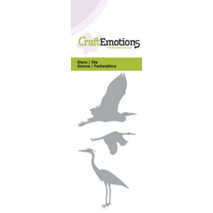 CraftEmotions Stanzschablone - Wasservögel