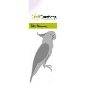 CraftEmotions Stanzschablone - Kakadu