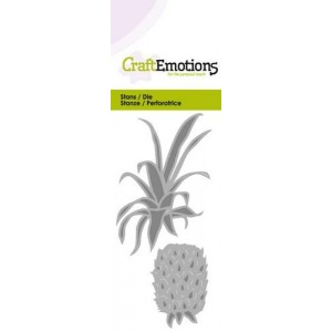 CraftEmotions Stanzschablone - Ananas