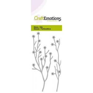 CraftEmotions Stanzschablone - Sternen-Zweige