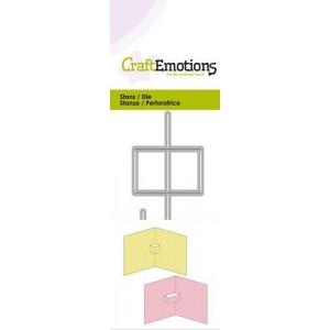CraftEmotions Stanzschablone - Popup-Karten Basis