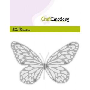 CraftEmotions Stanzschablone - Schmetterling groß