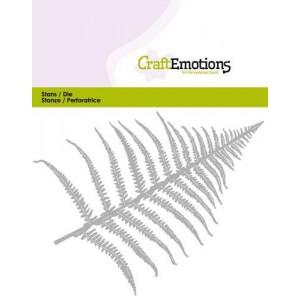 CraftEmotions Stanzschablone - Farnblatt