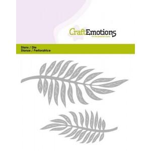 CraftEmotions Stanzschablone - Tropische Blätter