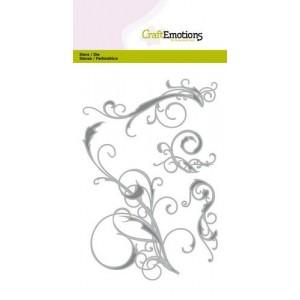 CraftEmotions Stanzschablone - Swirls - 20% RABATT