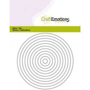 CraftEmotions Stanzschablone - Kreis-Rahmen