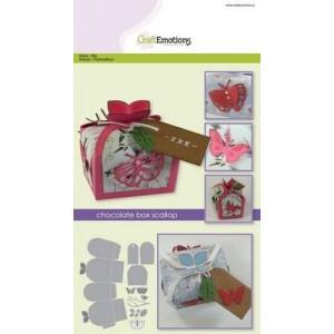 CraftEmotions Stanzschablone - Schmetterlings-Box - 20% RABATT