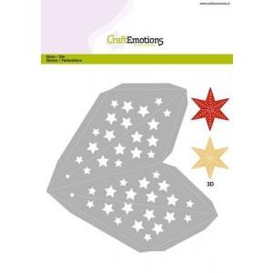 CraftEmotions Stanzschablone - Weihnachts-Stern