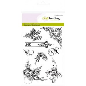 CraftEmotions Clear Stamps - Ornamente