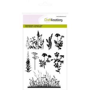 CraftEmotions Clear Stamps - Kräuter und Gräser