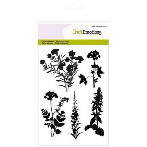 Craftemotions Clearstamps - Pflanzen am Straßenrand