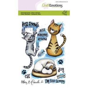 CraftEmotions clearstamps A6 - Odey & Friends 2