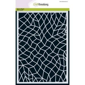 CraftEmotions Stencil A5 - Mosaik