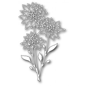 Memory Box Stanzschablone - Chrysanthemum Bouquet
