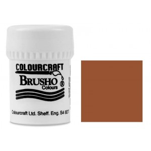 Brusho Crystal Colour Farb-Pigmente 15g - Burnt Sienna