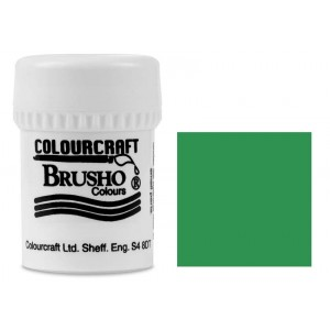 Brusho Crystal Colour Farb-Pigmente 15g - Emerald Green