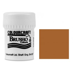 Brusho Crystal Colour Farb-Pigmente 15g - Light Brown