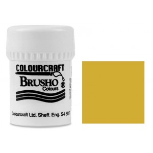 Brusho Crystal Colour Farb-Pigmente 15g - Yellow Ochre
