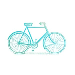 Couture Creations Bicycle Mini Stamp