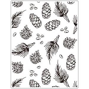 Crafts Too Hintergrund-Prägeschablone EXTRA GROSS - Pine