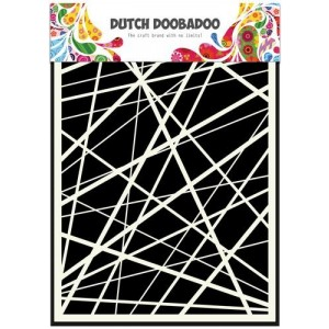 Dutch Doobadoo Mask Art Stencil A5 - Stripes