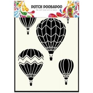 Dutch Doobadoo Mask Art Stencil A5 - Airballoons