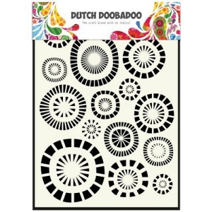 Dutch Doobadoo Mask Art Stencil A5 - Circles
