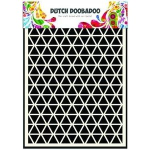 Dutch Doobadoo Mask Art Stencil A5 - Triangles