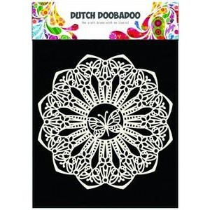 Dutch Doobadoo Mask Art Stencil A5 - Butterfly 145mm
