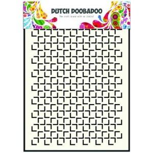 Dutch Doobadoo Mask Art Stencil A5 - Geometric Squares