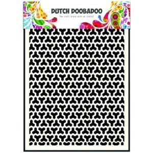 Dutch Doobadoo Mask Art Stencil A5 - Geometric Blocks