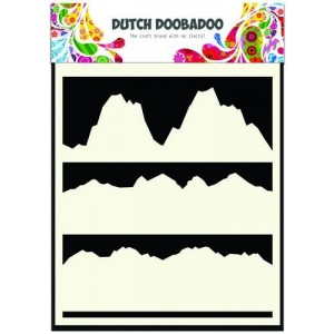 Dutch Doobadoo Mask Art Stencil A5 - Landscape