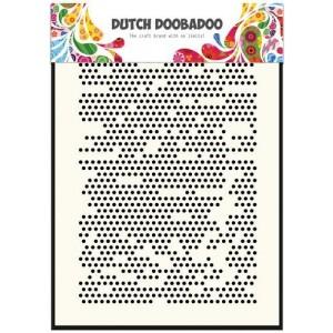 Dutch Doobadoo Mask Art Stencil A5 - Dots