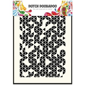 Dutch Doobadoo Mask Art Stencil A5 - Triangles Tangram