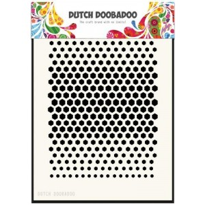 Dutch Doobadoo Mask Art Stencil A5 - Honeycomb