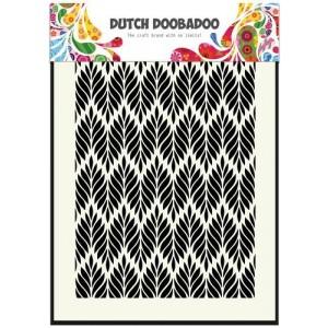 Dutch Doobadoo Mask Art Stencil A5 - Floral Leaves