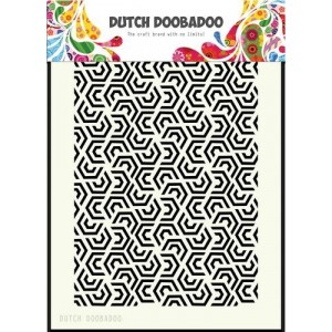 Dutch Doobadoo Mask Art Stencil A5 - Leaves