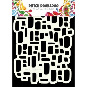 Dutch Doobadoo Mask Art Stencil A5 - Rocks