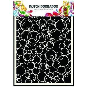 Dutch Doobadoo Mask Art Stencil A5 - Bubbles