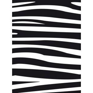 Darice Hintergrund-Prägeschablone - Zebra Pattern - 30% RABATT