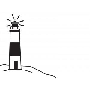 Darice Hintergrund-Prägeschablone - Lighthouse