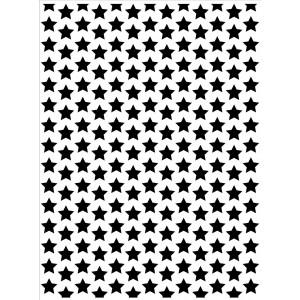 Darice Hintergrund-Prägeschablone - Stars